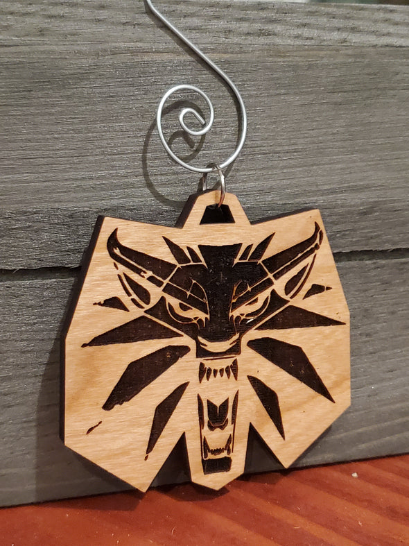 Witcher Wolf Ornament