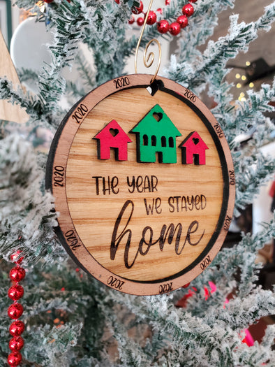 2020 Stay Home Ornament