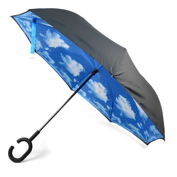 Blue Sky Double Layer Inverted Umbrella