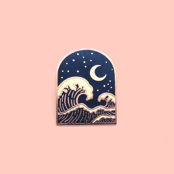 Wave Pin by Flattering Design