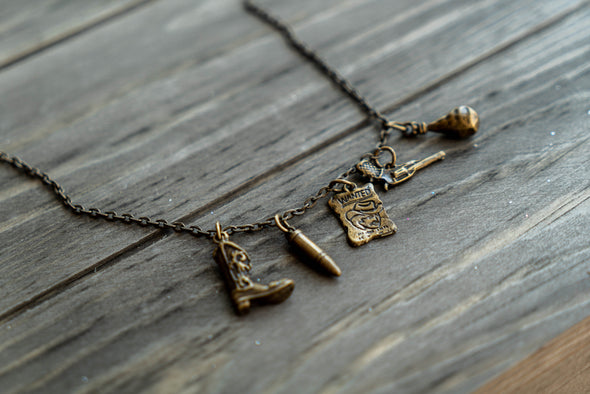 Christiana Treasures - Cowboy Things Necklace