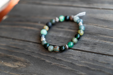 Breathe By Josie - Mixed Stone Diffuser Bracelet