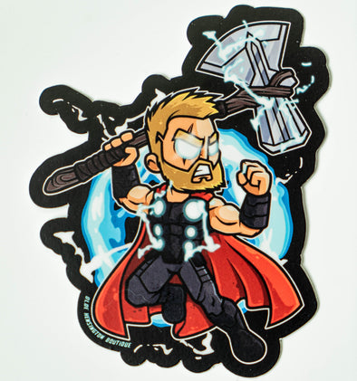 God Of Thunder Stormbreaker Sticker