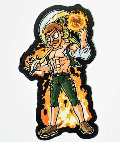 Escanor Lion Sin of Pride Sticker