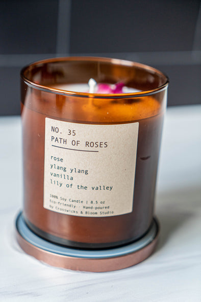 Path of Roses No. 35 Soy Candle