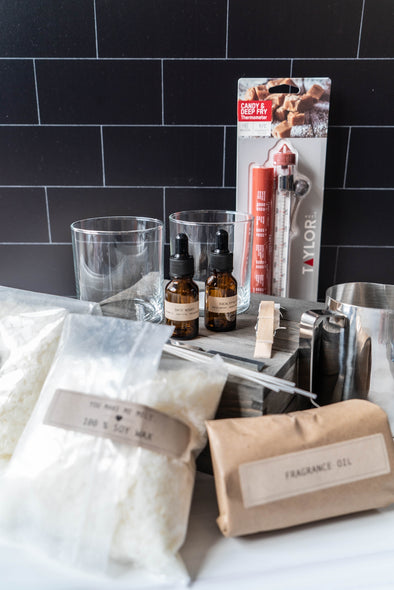Crosswicks & Bloom Make Your Own Candle Class Bundle
