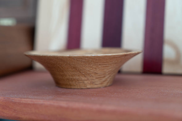 Small Quarterson White Oak Bowl