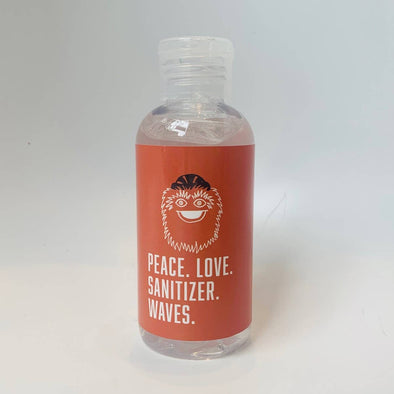 PEACE LOVE SANITIZER WAVES / GRITTY - Hand Sanitizer - 4oz.