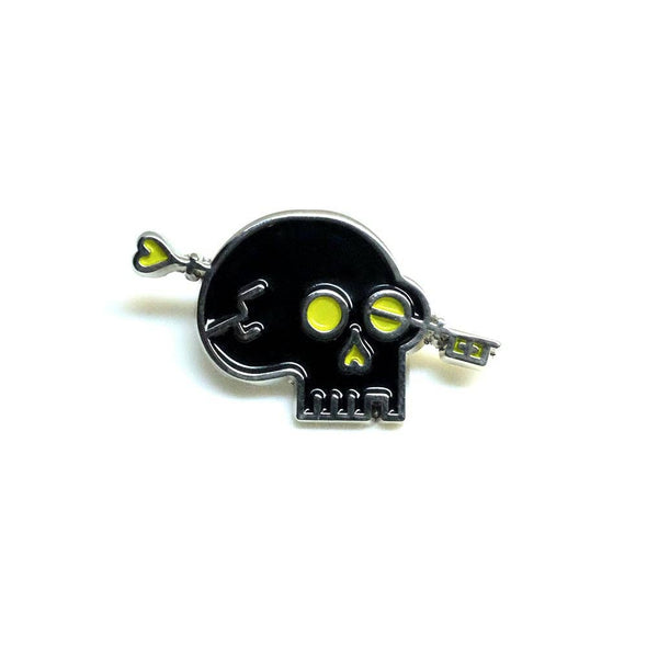 Lost Lust Supply Logo Pin