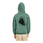 Load image into Gallery viewer, Youth Pullover Hooded Sweatshirt with Black Logo