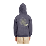 Load image into Gallery viewer, Youth Pullover Hooded Sweatshirt with Cream Logo