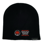 Load image into Gallery viewer, Beanie Hat with Embroidered Cedar Run Logo