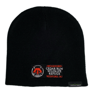 Beanie Hat with Embroidered Cedar Run Logo