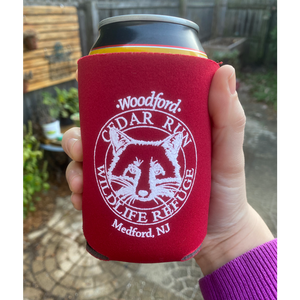 Can Cooler with Cedar Run Logo