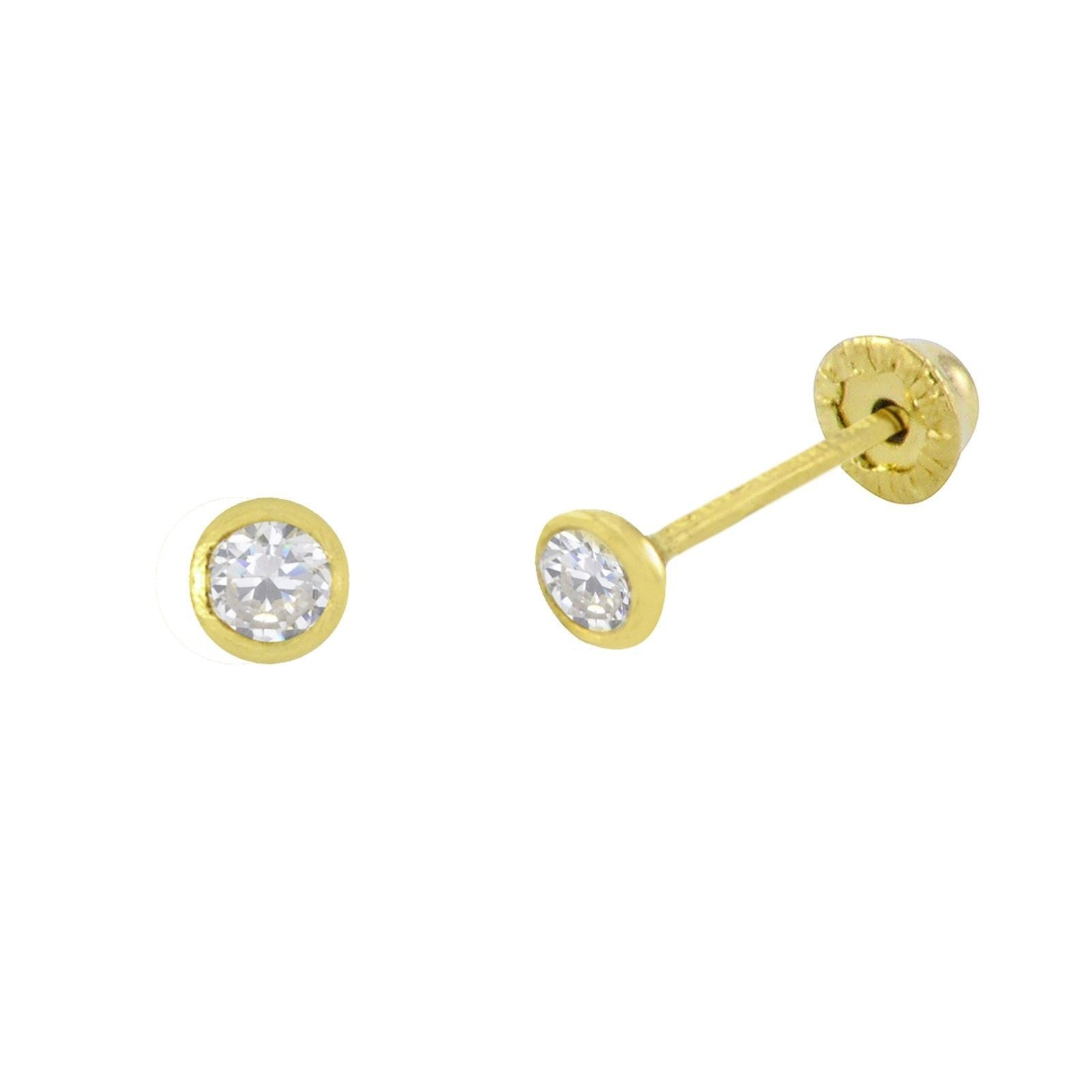 jewelry stud in discount faceted alternative gold basically cubic fine zirconia store unique product earrings white zen