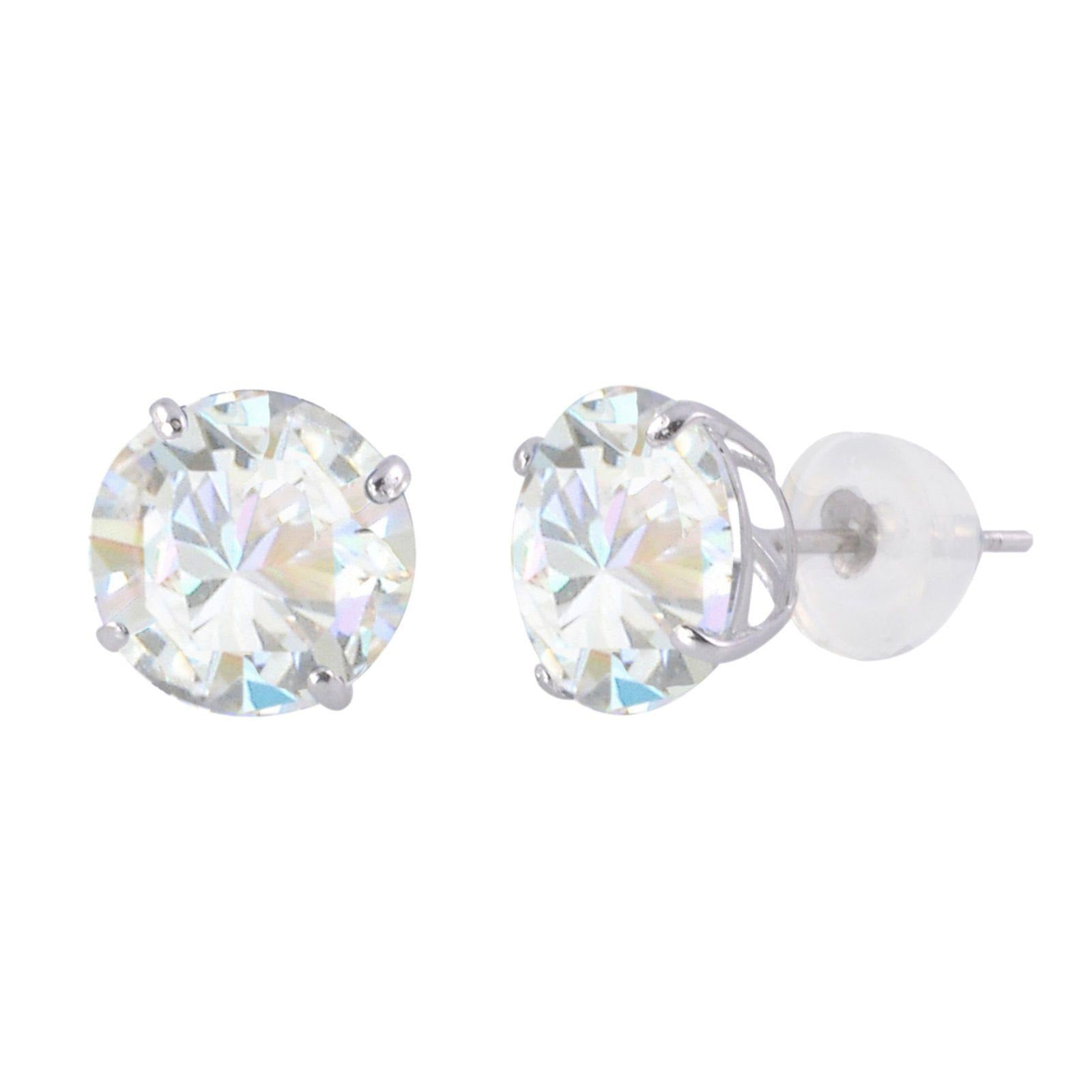 swarovski zirconia lyst earrings stud view fullscreen jewelry arabella gold