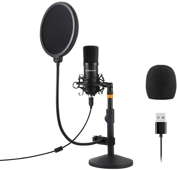 USB Streaming/Podcast PC Microphone