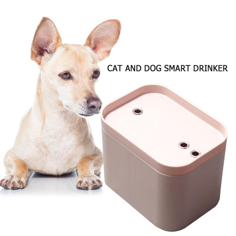 Cat and Dog Smart Water Fountain-Automatic Water Dispenser with USB Cable