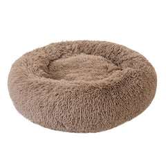 Fluffy Donut cat bed /plush cat bed/ Cat bed/ cat nest bed / cat bed/ best cat bed