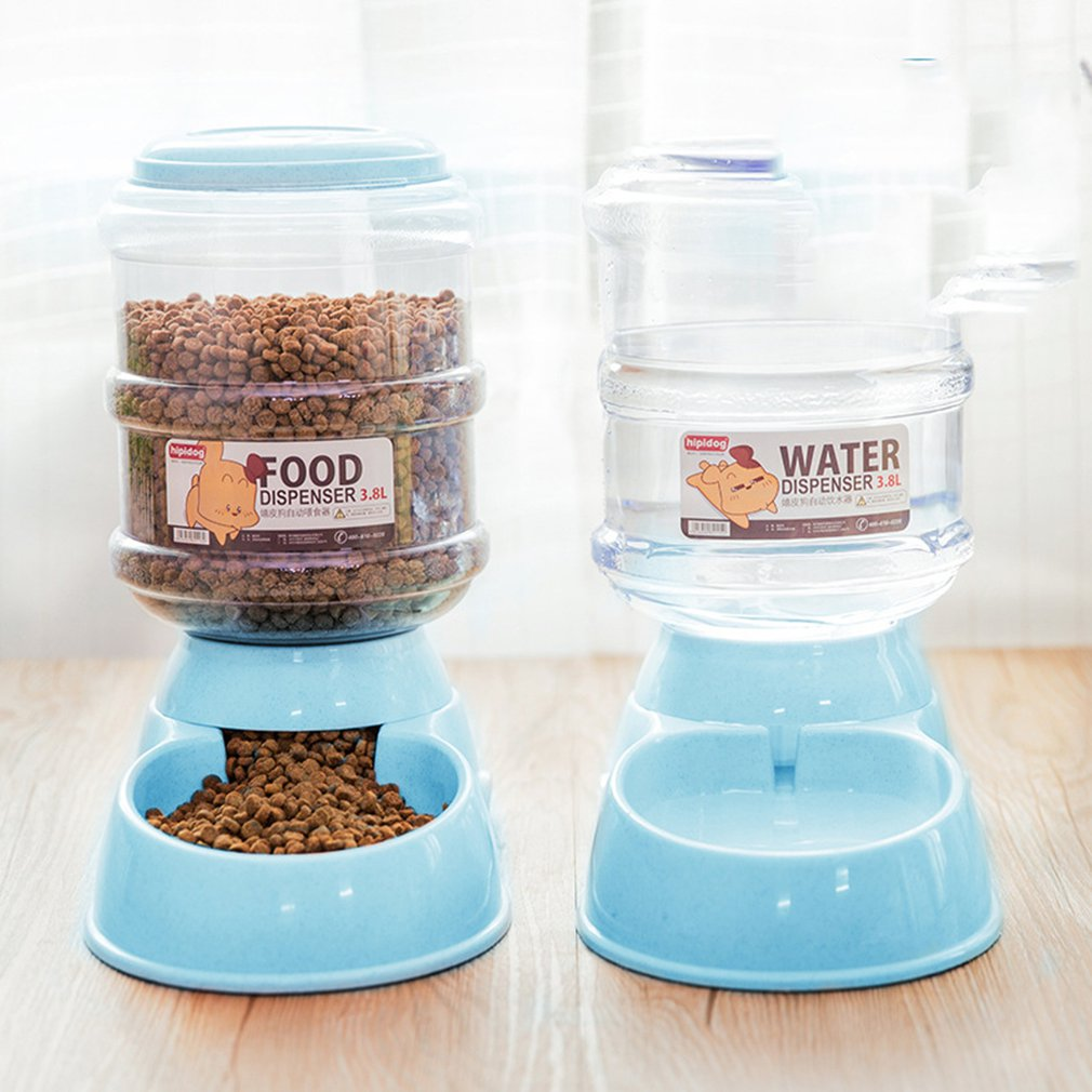 Pet Automatic Feeder  New 3.8L / dog and cat automatic feeder large capacity dispenser for cat and dogs.