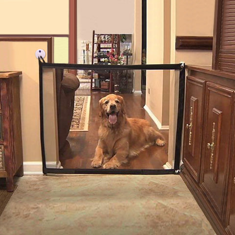 indoor dog fence / indoor dog gate/ dog barrier indoor  / magic dog gate for small and large dogs