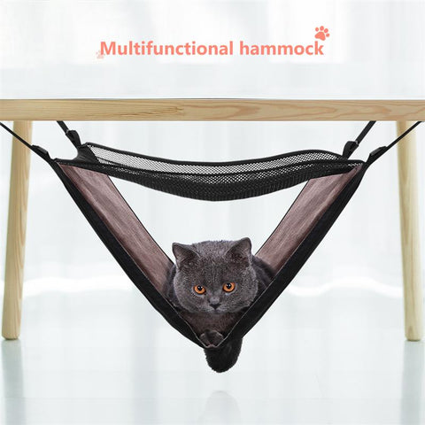 Cat Bed - Hammock for cats  - safe cat house - suitable for indoor/outdoor occasions / perfect cat hammock