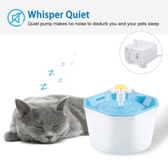 cat fountain /  catit flower fountain / cat drinking fountain 1.6L Automatic Cat Water Fountain / best cat water fountain
