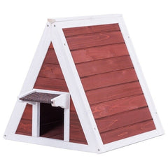 outdoor cat shelter / wooden cat house / outside cat house / cat house outdoor for cats