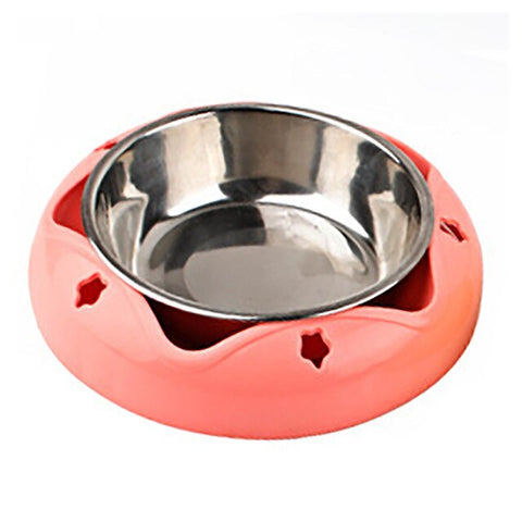 Pet - Dog Bowl - Stainless Steel Non-slip - food bowl For Small Medium Dogs and Cats
