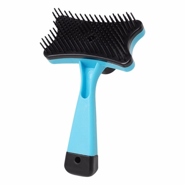 Pet Grooming - dog slicker brush / dog brush - dog hair brush / dog shedding brush