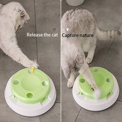 Cat Toy - Interactive Cat Toy -  Electric puzzle toy - Entertained for cats