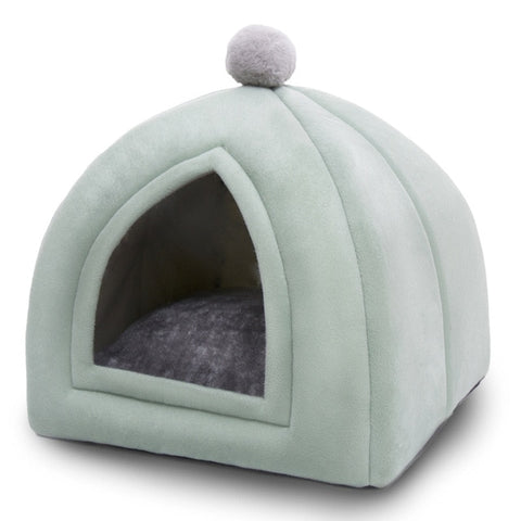 cat house - cat bed - fluffy cat cave