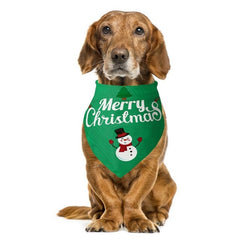 dog bandanas / christmas dog bandanas / christmas dog scarf / Dog scarf collar breathable