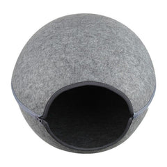 Premium felt cat cave - 100% handmade - Cat bed/cat house