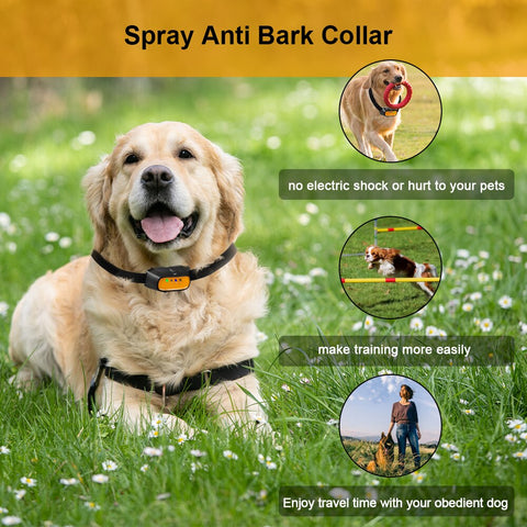 dog training collar / anti bark collar / dog bark control / Spray Dog Training Collar  Safe Humane No Shock dog training collar