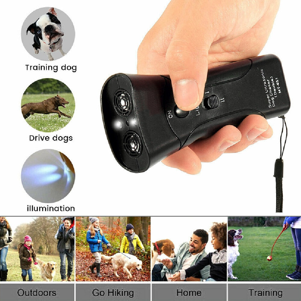 Anti Barking Device dogs / bark control device /Ultrasonic Anti Barking Collars Repeller Outdoor /  Dog Stop No Bark Control