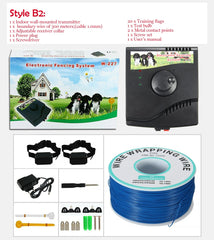 Underground Electric Dog Fence / Waterproof Electronic Shock Collar / wireless invisible fence/ Dog Training collar / underground dog fence