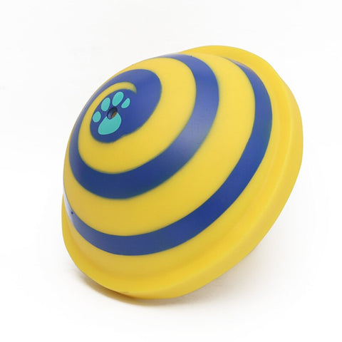 Dog Toy /  Interactive dog toy /  dog toy squeakers / Chewing Tooth Clean  / Food Ball Pet Dog Squeaking Sounding Disc/ Dog Woof Glider Toys