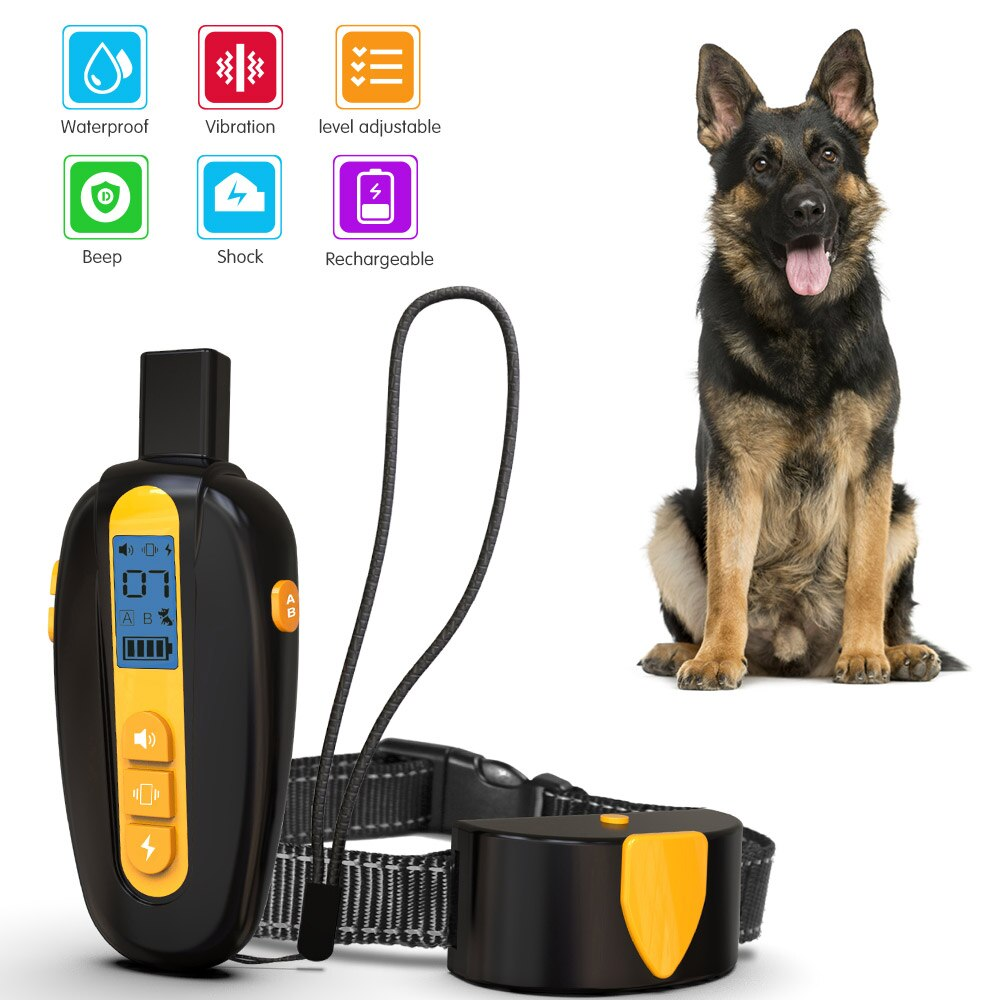 electric dog fence / dog shock collar / dog bark collar / electric pet fencing / dog training collars waterproof -