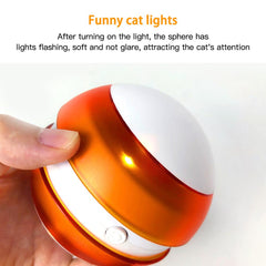automatic cat toys  Interactive Automatic Rolling Ball Toys /  Funny Cat Toy Tumbler with Smart LED Flash / cat tumbler toy