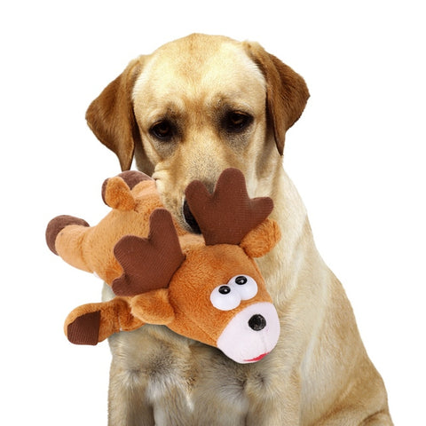 dog toy Christmas Elk Pet Dogs  / Chew Toys  dog interactive Dog Toys For Large Small Dogs