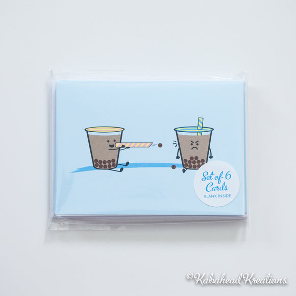 Boba Note Cards