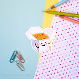 Asian Food Vinyl Stickers