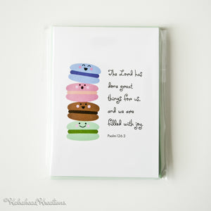 Macarons Filled With Joy Note Cards