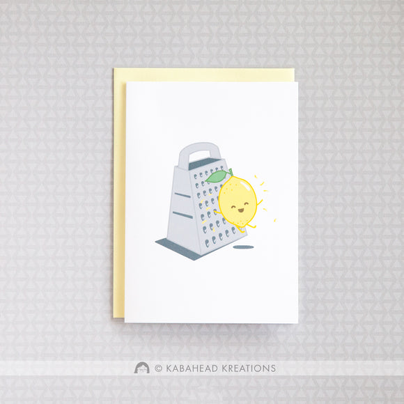 Lemon Zest Birthday Card