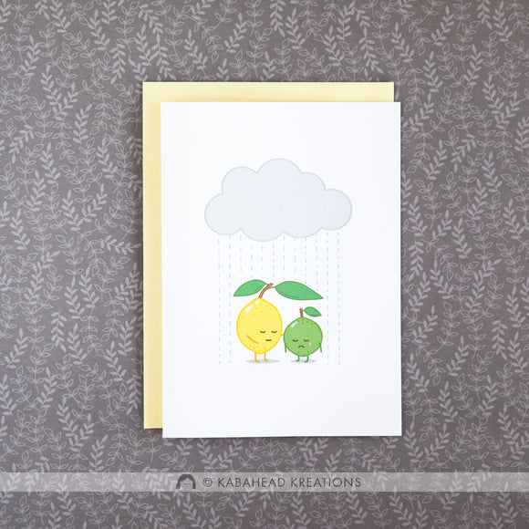 Lemon Sympathy/Support Card