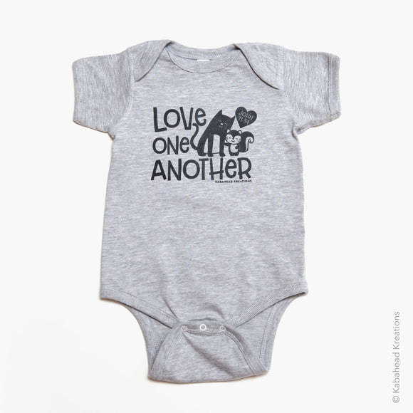 Love One Another Onesie