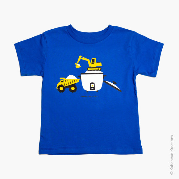 Rice Excavator Toddler Tee