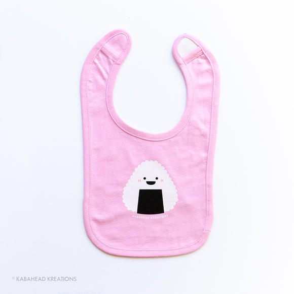 Onigiri Cotton Infant Bib