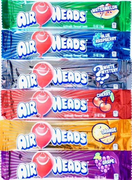Airhead Bars 93.6g Box of 6 bars USA Treats